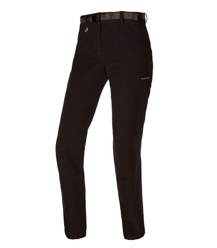 Compra online Pantalones Trangoworld Elbert DN Mujer Negro en oferta al mejor precio