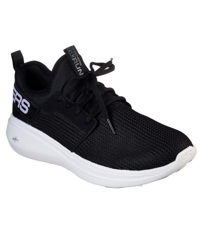 Compra online Zapatillas Skechers GoRun Fast Valor Hombre Negro en oferta al mejor precio