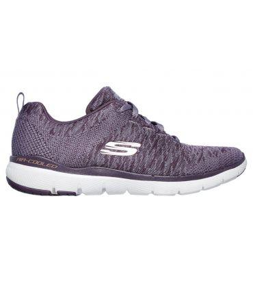 Zapatillas Skechers Flex Appeal 3.0 Mujer Morado