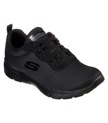 Zapatillas Skechers Flex Appeal 3.0 First Insight Mujer Negro