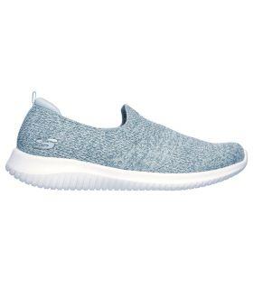 Zapatillas Skechers Ultra Flex Harmonious Mujer Azul. Oferta y Comprar online