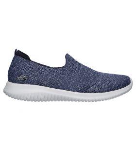 Zapatillas Skechers Ultra Flex Harmonious Mujer Navy. Oferta y Comprar online