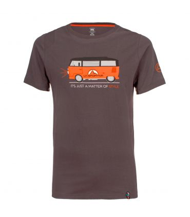 Camiseta La Sportiva Van Hombre Carbon