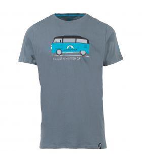 Camiseta La Sportiva Van Hombre Gris. Oferta y Comprar online