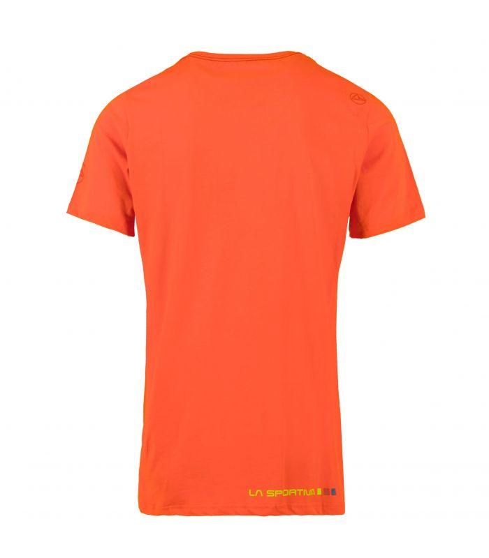 Compra online Camiseta La Sportiva Square Hombre Calabaza en oferta al mejor precio