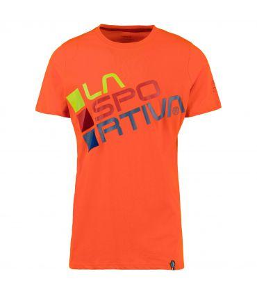 Camiseta La Sportiva Square Hombre Calabaza