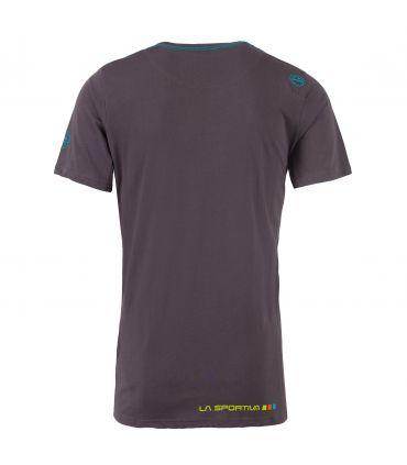 Camiseta La Sportiva Square Hombre Carbon Azul