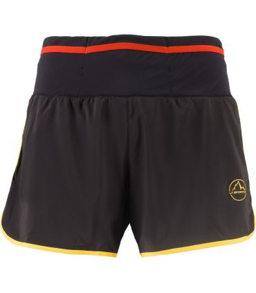 Pantalones La Sportiva Tempo Hombre Negro Amarillo