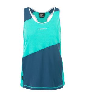 Camiseta La Sportiva Drift Tank Mujer Aqua Opal. Oferta y Comprar online