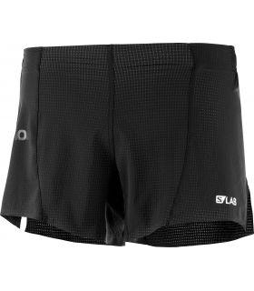 Pantalones Salomon S-Lab Short 4 M Hombre Negro