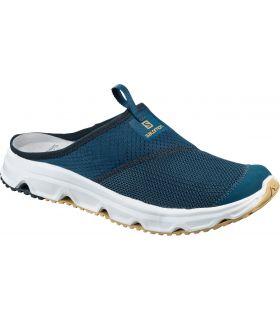 Zapatillas descanso Salomon RX Slide 4.0. Hombre Poseidon. Oferta y Comprar online