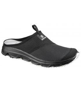 Zapatillas descanso Salomon RX Slide 4.0. Hombre Negro. Oferta y Comprar online