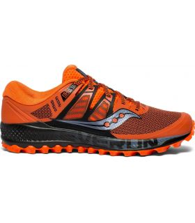 Zapatillas Saucony Peregrine ISO Hombre Naranja. Oferta y Comprar online
