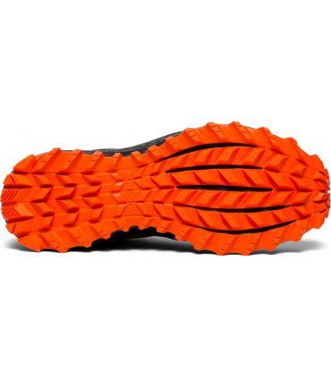 Zapatillas Saucony Peregrine ISO Hombre Naranja