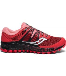 Zapatillas Saucony PEREGRINE ISO Mujer Rojo. Oferta y Comprar online