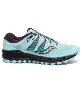 Zapatillas Saucony PEREGRINE ISO Mujer Azul. Oferta y Comprar online
