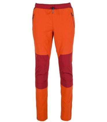 Pantalones Ternua Natib Hombre Naranja Rojo