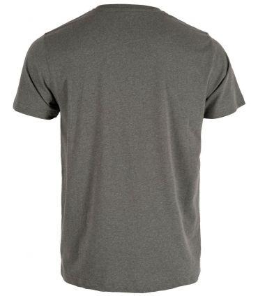Camiseta Ternua Yelia Hombre Ballenas Grises