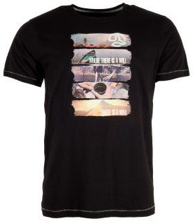 Camiseta Ternua Ambang Hombre Negro. Oferta y Comprar online