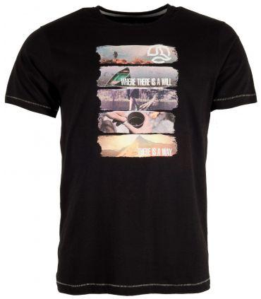 Camiseta Ternua Ambang Hombre Negro