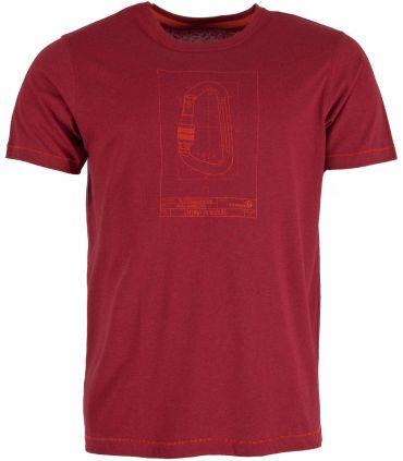 Camiseta Ternua Zengyu Hombre Borgoña