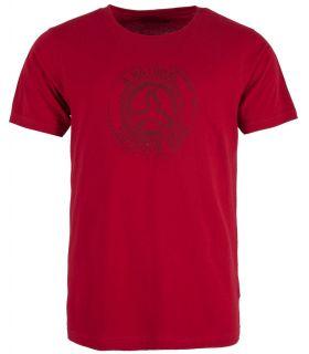 Camiseta Ternua Zukur Hombre Borgoña