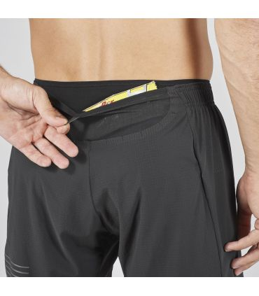 Pantalones Salomon Sense Pro Hombre Negro