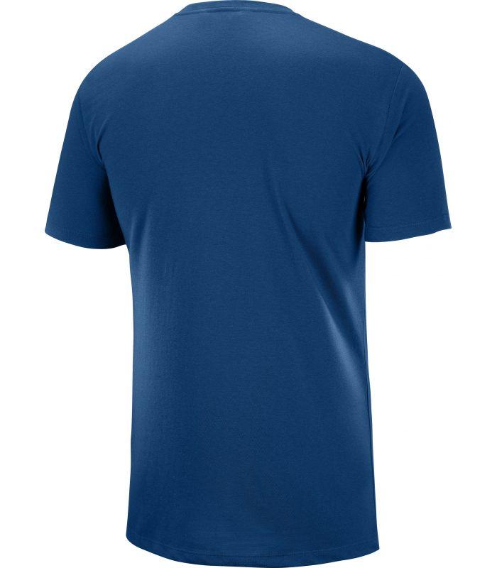 Camiseta Salomon MC Blend Logo SS Tee Hombre Poseidon