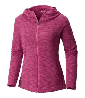 Sudadera Columbia OuterSpaced Full Zip Hoodie Mujer Lavanda Brillante