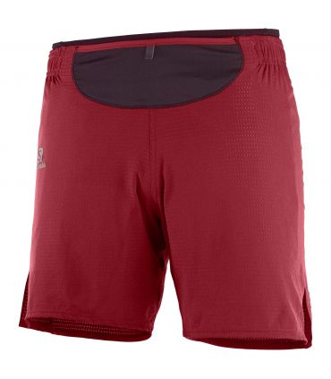 Pantalones Salomon Sense Short Hombre Biking Red