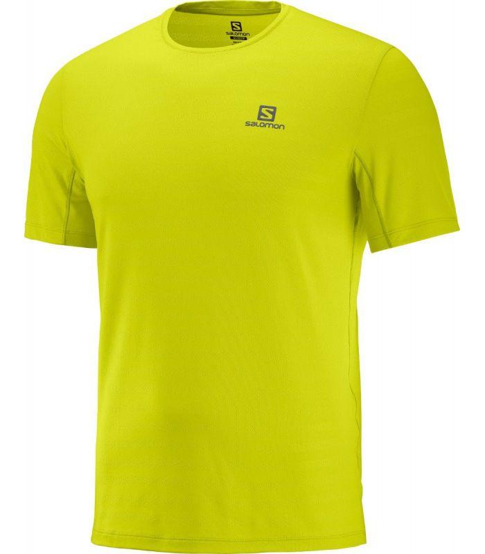 Compra online Camiseta Salomon XA Tee Hombre Citronelle en oferta al mejor precio