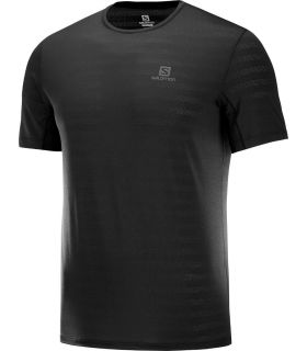 Camiseta Salomon XA Tee Hombre Negro. Oferta y Comprar online