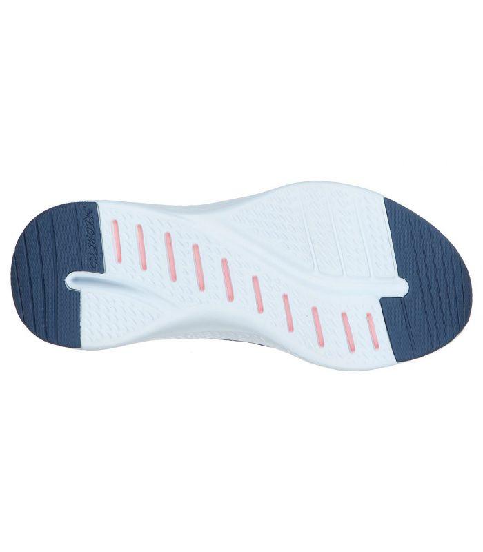 Zapatillas Skechers Solar Fuse-Brisk Escape Mujer Navy Rosa