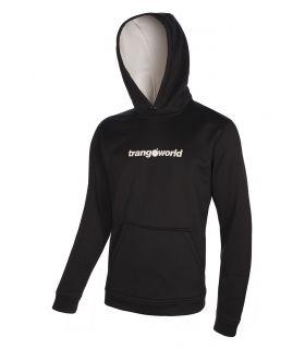 Sudadera Trangoworld Login Hombre Negro Gris. Oferta y Comprar online