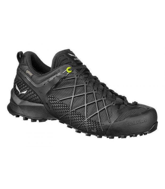 Compra online Zapatillas Salewa Ms WildFire GTX Hombre Black Silver en oferta al mejor precio