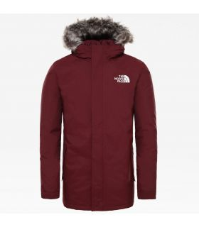 Parka The North Face Zaneck Hombre Deep Garnet Red. Oferta y Comprar online