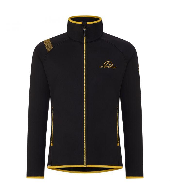 Compra online Chaqueta La Sportiva Promo Fleece Hombre Negro en oferta al mejor precio
