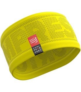 Banda Compressport Headband On/Off Amarillo. Oferta y Comprar online