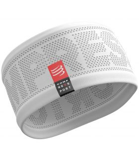 Banda Compressport Headband On/Off Blanco. Oferta y Comprar online