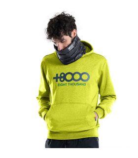 Sudadera +8000 Almaden 19I 420 Hombre Lima. Oferta y Comprar online