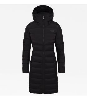 Parka The North Face Stretch Down Mujer Negro. Oferta y Comprar online