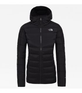 Chaqueta The North Face Stretch Down Hoodi Mujer Negro. Oferta y Comprar online
