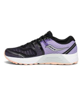 Saucony Guide ISO 2 Negro Mujer