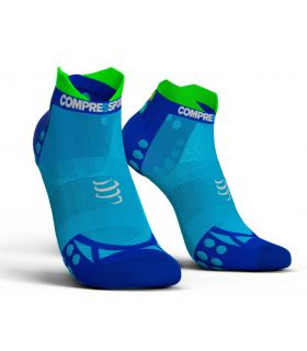 Calcetines Running Compressport Pro Racing Socks V3.0 Ultralight Azul. Oferta y Comprar online