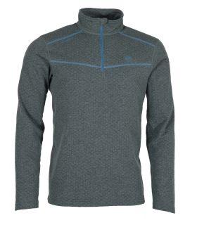 Camiseta Ternua Talok 1/2 Zip Hombre Mousse Grey. Oferta y Comprar online
