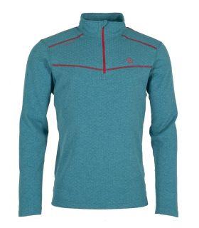Camiseta Ternua Talok 1/2 Zip Hombre Pagoda Blue. Oferta y Comprar online