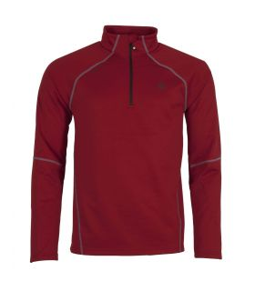 Camiseta Ternua Ghent Top Hombre Dark Red
