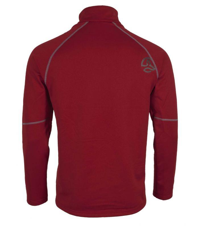 Compra online Camiseta Ternua Ghent Top Hombre Dark Red en oferta al mejor precio