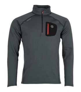 Camiseta Ternua Lezat Top Hombre Mousse Grey. Oferta y Comprar online