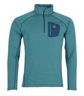 Camiseta Ternua Lezat Top Hombre Pagoda Blue. Oferta y Comprar online